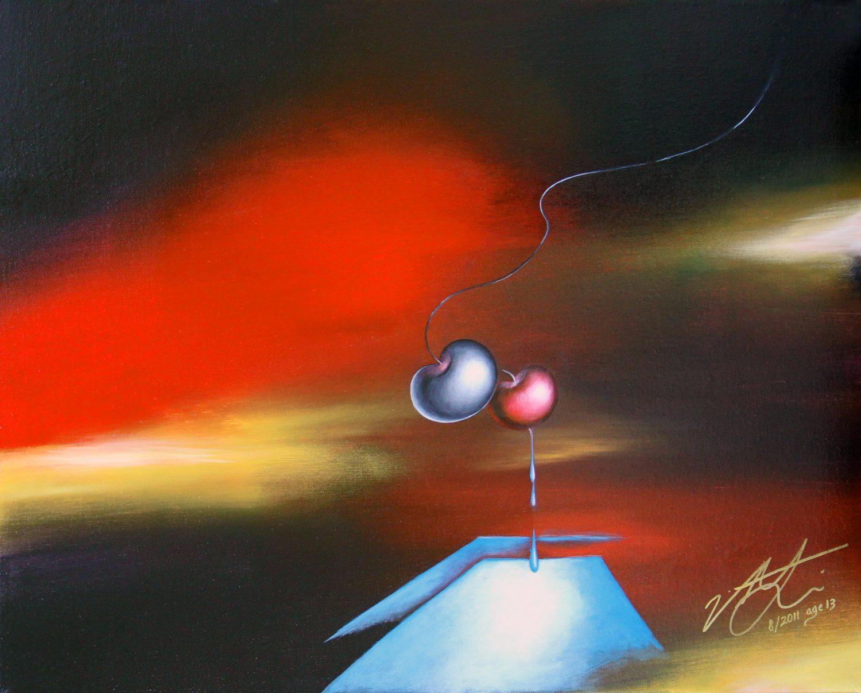Perception, Victoria Yin, 08 2011 age 13, acrylic on canvas