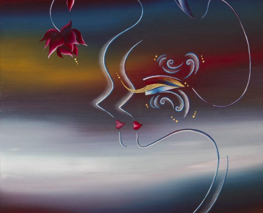 The Wondrous Existence-Land, Victoria Yin, Dec 2009 age 12, 24 x 30
