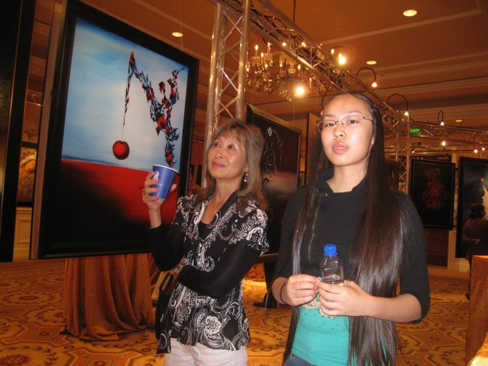 Victoria Yin at Elite Art Event, Lake Las Vegas, 2009 age 11